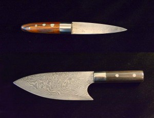 Charlie Metcalf recent knife project